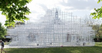 2013 Serpentine Gallery Pavilion by Sou Fujimoto (London)