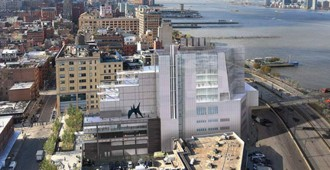 Whitney Museum (New York): the new building by Renzo Piano... construction images