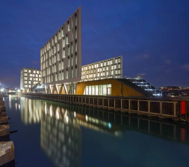 Denmark: 'UN City', Copenhagen - 3XN