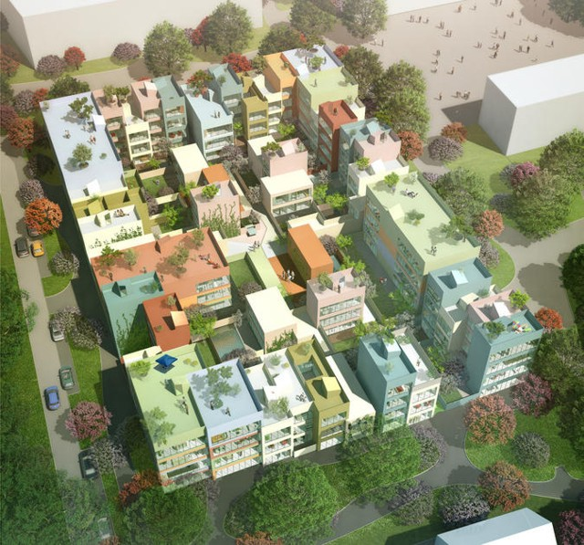 Switzerland: 95 homes in Emmen - MVRDV