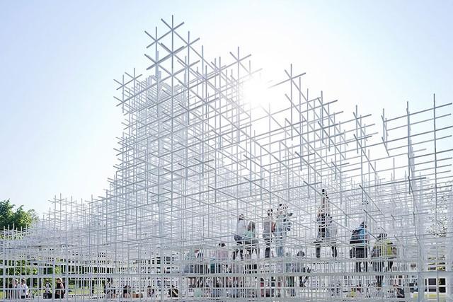 Serpentine Gallery Pavilion 2013, London - Sou Fujimoto