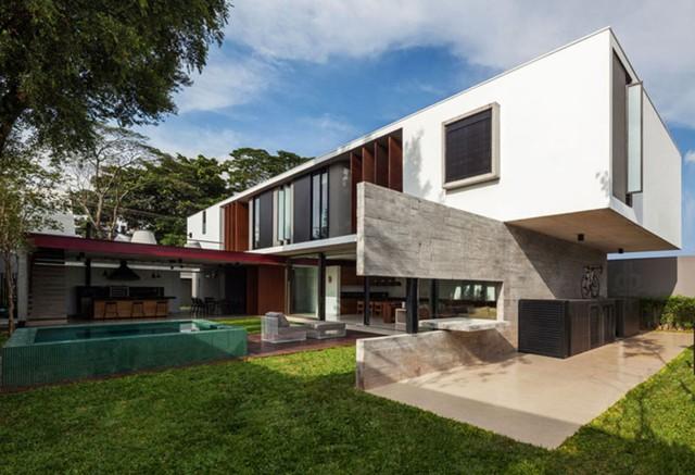 Brazil: Planalto House, São Paulo - FC Studio