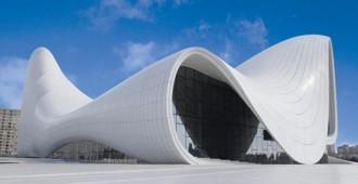 Azerbaijan: 'Heydar Aliyev Center' - Zaha Hadid Architects
