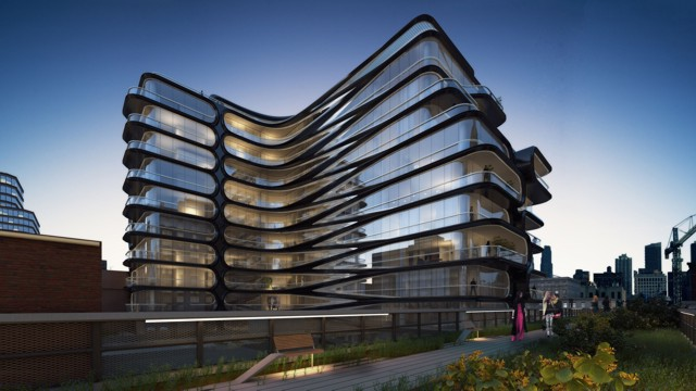 A 'boutique condominium', Zaha Hadid's first project in New York