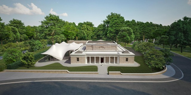 Serpentine Sackler Gallery, London - Zaha Hadid Architects