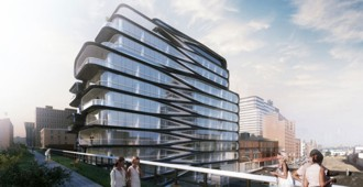 New renderings of the luxury condo designed by Zaha Hadid in New York