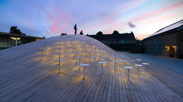 Denmark: 'Gammel Hellerup Gymnasium' - BIG